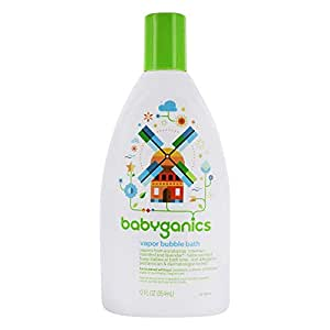 Babyganics Vapor Bubble Bath Bundle 3 Items 12 Oz