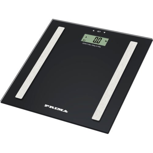 3 IN 1 150KG DIGITAL ELECTRONIC LCD BMI CALORIE BODY FAT BATHROOM WEIGHING SCALE (BLACK) BARGAINS-GALORE