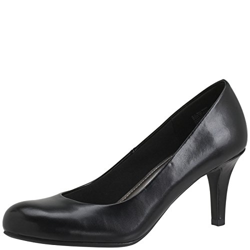 Predictions Comfort Plus by Women's Karmen Pump 7.5 Wide Black by Predictions