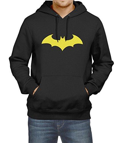 [Mens Batman Pullover Hoodie Unisex The Dark Knight Arkham Knight (Small)] (Batman Arkham Suit)