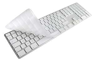 Astuce 200017 Alias - Protector de TPU con teclas numéricas para teclado Apple con cable