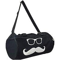 Bodyfit Basic Duffle Bag Gym (Black, Kit Bag)