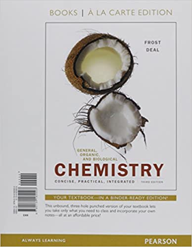 General, Organic, and Biological Chemistry, Books a la Carte Plus Mastering Chemistry with Pearson eText -- Access Card Package (3rd Edition)