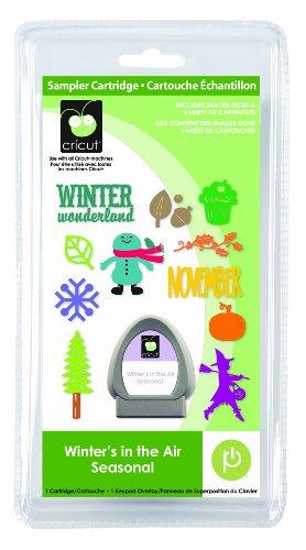 Winter's in the Air Seasonal Cricut Sampler Cartridge by Cricut