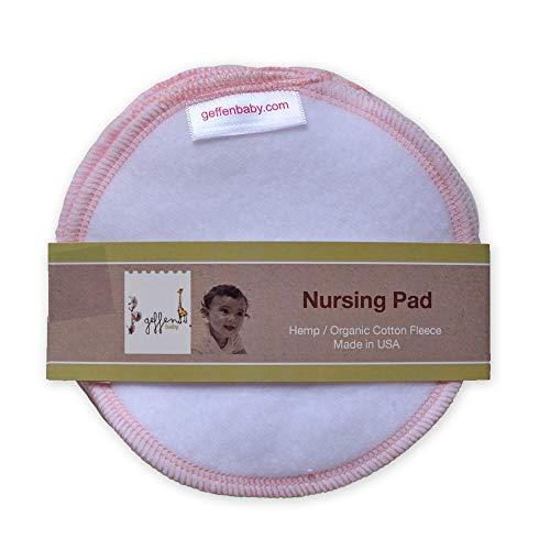 Geffen Baby Nursing Pads Hemp/Organic Cotton Fleece