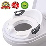 Potty Training Seat For Boys and Girls Toilet Seat For Kids With Cushion