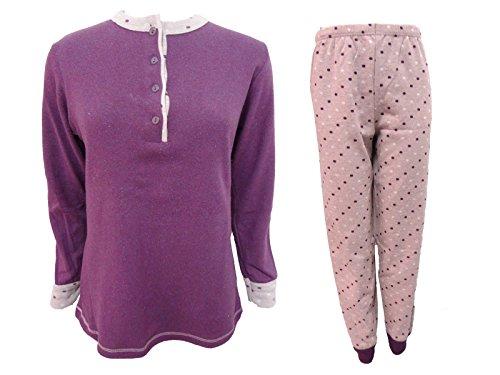 nuova milano punto Irge donna art 1076 pigiama serafino collezione lungo classico Vinaccia Z4qRpS
