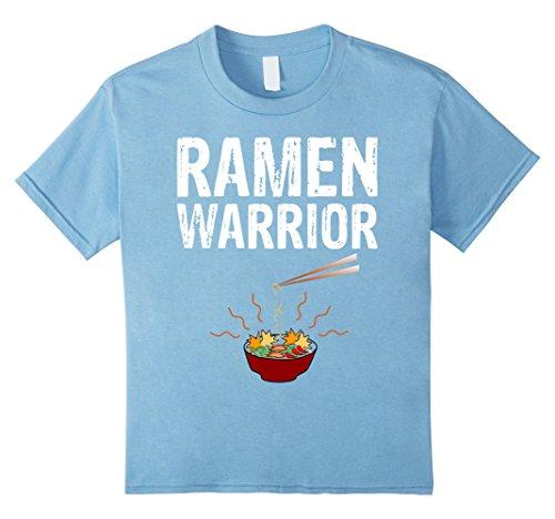 Price comparison product image unisex-child Ramen Warrior Japanese Asian Noodles Bowl Foodie T-Shirts 12 Baby Blue