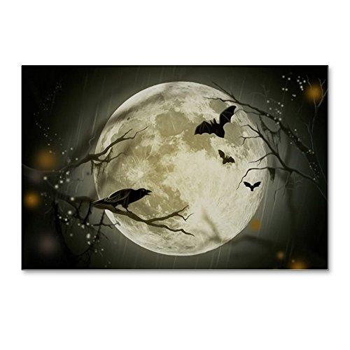 CafePress - Halloween Scene - Postcards (Package of 8), 6