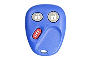 2003 Chevrolet Silverado 1500 2500 3500 Keyless Entry Remote Key Fob w/ Free DIY Programming Instructions - Blue