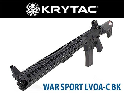 KRYTAC WAR SPORT LVOA-C BK 完成品電動ガン ブラック B01L8PSP3E