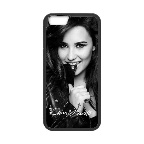 """Fayruz - iPhone 6 Rubber Cases, Demi Lovato Hard Phone Cover for iPhone 6 4.7"""" F-i5G450"""