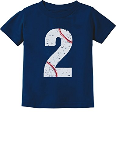 (TeeStars - Baseball 2nd Birthday Gift for Two Year Old Toddler Kids T-Shirt 2T)