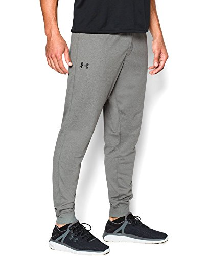 Under Armour Men's Tricot Pants - Tapered Leg, Greyhound Heather (082), XX-Large