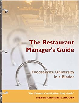 restaurant manager training manual