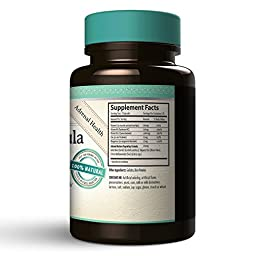 Adrenal Formula Restore & Recover - Adrenal Support Supplement using ingredients formulated specifically to Help your Adrenals Restore and Recover from Stress, Fatigue and Exhaustion.