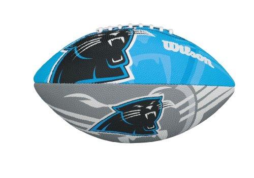 Wilson NFL Junior Team Logo Football (Carolina Panthers) - Football Passing Machine