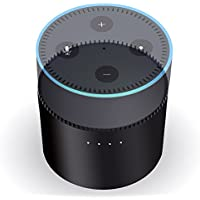 Echo dot Charging Dock, Jelly Comb Battery Base Large Capacity for Echo Dot 2nd Generation (Power Your Echo Dot Up To 10 hours)-Black