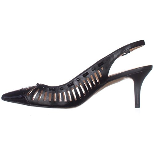 Inc Concepts Internationaux Femmes Dehany Cuir Bout Pointu Slingback Classi. Noir