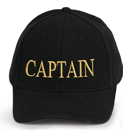 Kapitänsmütze Cap Captain Ancient Mariner, Captain Cabin Boy Crew First Mate Yachting Baseballmütze Inschrift Schriftzug Schwarz Weiß rot Weiss Army Military Baseballmütze Security (CAPTAIN)