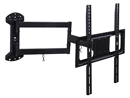 (Mount-It! Full Motion TV Wall Mount Arm with 24 Inch Extension, Fits 32 to 55 Inch TVs with Up to VESA 400 x 400, 77 Lbs Capacity)
