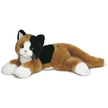 Amazon Com Bearington Callie Plush Stuffed Animal Calico Cat