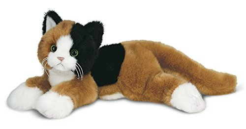 Bearington Callie Plush Stuffed Animal Calico Cat, Kitten 15 inches