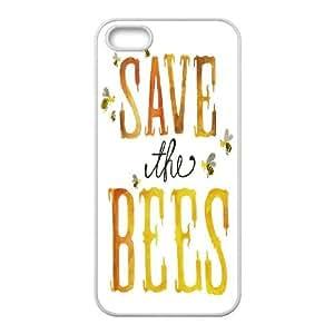 CHENGUOHONG Phone CaseHoney Bee Art Design For Apple Iphone 5 5S Cases -PATTERN-6