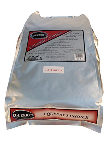 Cheapest Equerry's Choice 160 Feedings for 1000 lb. Horse, 20lb. Check this out.