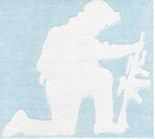 - Kneeling Soldier - Military Army Navy Marines