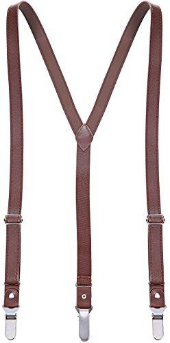 Marino Leather Adjustable Suspender EazyGrip product image