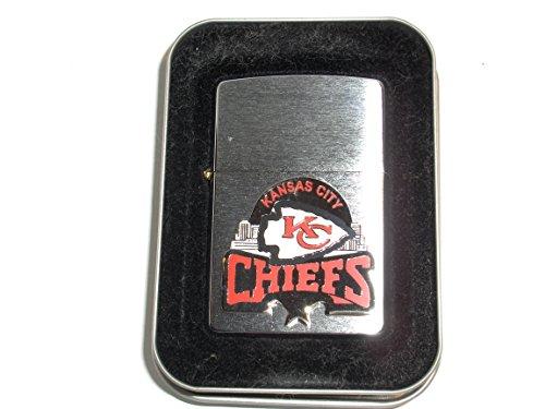 CHIEFS Zippo NFL Kansas City National Football League 2003 Emblem Lighter by Zippo