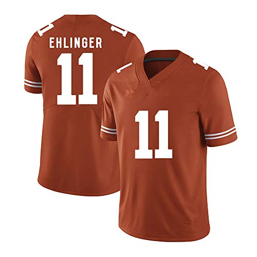 - Sam_Ehlinger_Texas_Longhorns_Orange_Game_Jersey