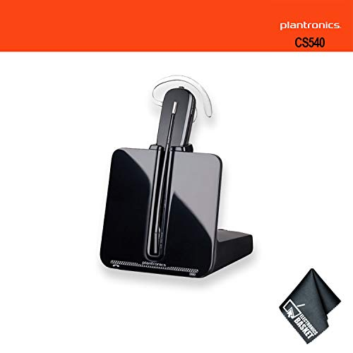 Plantronics CS540 Wireless Headset System Bundle Noise Canceling Microphone