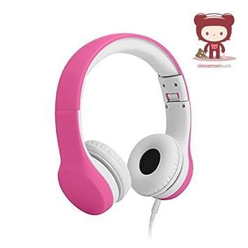 Capacidad limitada de diadema con cable para niños - rosa