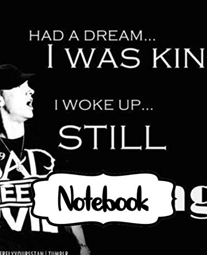 Notebook: Bad Meets Evil American Hip Hop Duo Royce Da 5'9