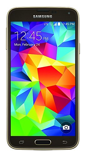Samsung Galaxy S5 G900v 16GB Verizon Wireless CDMA Smartphone - Copper Gold (Certified Refurbished) (Refurbished Verizon Wireless Phones)