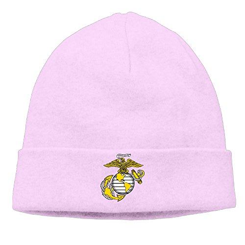 USMC Globe United States Marine Corps Unisex Skull Beanies Hat Fashion Watchcap