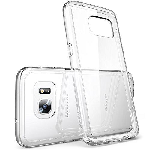 Galaxy S7 Case, [Scratch Resistant] i-BlasonClear [Halo Series] Samsung Galaxy S7 Hybrid Bumper Case Cover 2016 Release (Clear (Scratch Resistant))