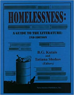 Descargar En Torrent Homelessness: A Guide To The Literature Kindle Puede Leer PDF