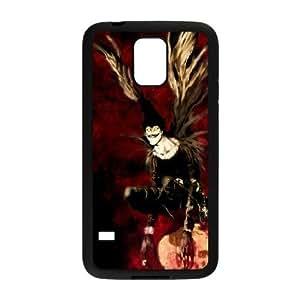 samsung_galaxy_s5 phone case Black Death Note TTD3728681