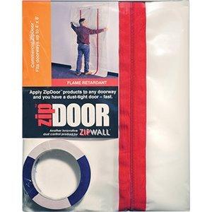 Zip Wall Products ZipWall ZDC 4' x 8' Zipdoor Commercial - 6ct. Case