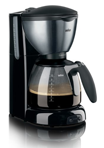 Braun KF570 10-Cup Coffee Maker, 220-240 Volts (Non-USA Compliant) European Cord