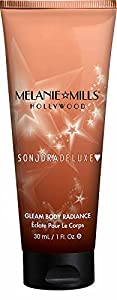 Melanie Mills Hollywood Moisturizing Gleam Body Radiance - Peach Deluxe, 1 fl.oz