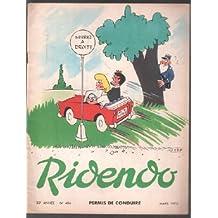 Revue ridendo n° 406 / permis de conduire
