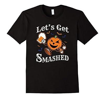 Funny Halloween LET'S GET SMASHED Pumpkin Shirt