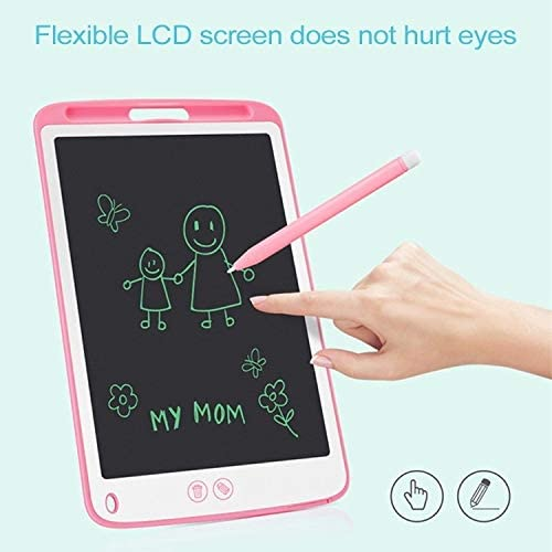 Black Color : Blue Supports One-Click Clear /& Local Erase Goodao 10.5-inch LCD Writing Tablet