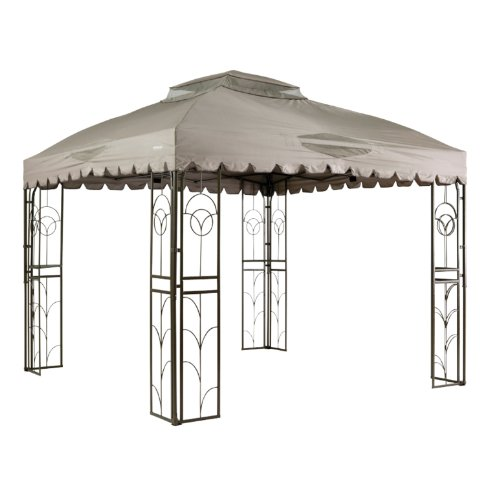 Garden Winds Vine Motif 10 x 10 Gazebo Replacement Canopy...