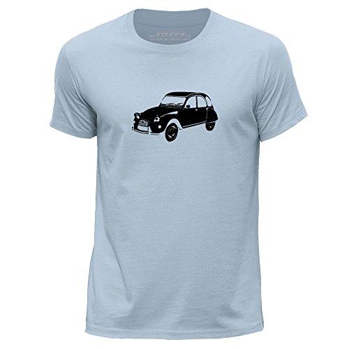stuff4-mens-x-large-xl-sky-blue-round-neck-t-shirt-stencil-car-art-citroen-2cv