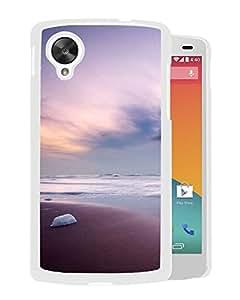 New Beautiful Custom Designed Cover Case For Google Nexus 5 With Purple Skies (2) Phone Case
